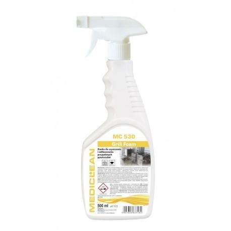 Mediclean 530 500 ml - Pianka do czyszczenia i odtłuszczania przypalonych powierzchni