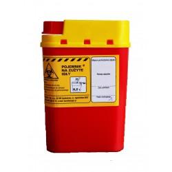 Pojemnik na odpady medyczne 0,2 l