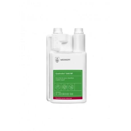 Quatrodes Unit 1l - koncentrat do mycia i dezynfekcji urządzeń ssących!