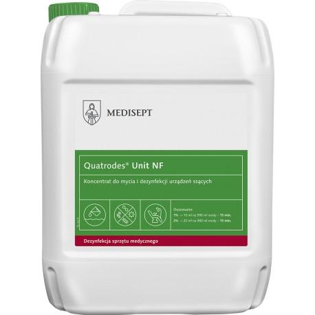 Quatrodes Unit 5l - koncentrat do mycia i dezynfekcji urządzeń ssących!